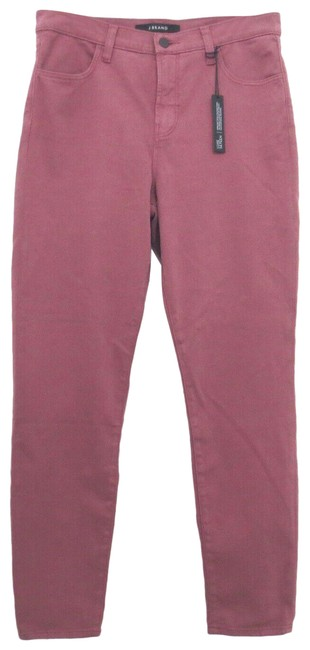 Item - Pink Light Wash - Rose Blair Alana High Rise Crop Soft Skinny Jeans Size 30 (6, M)