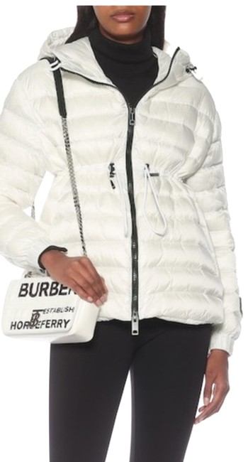 Item - White Staithes Quilted Down Jacket Coat Size 14 (L)