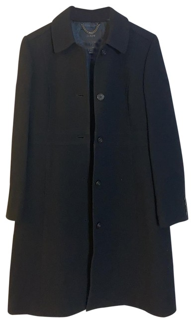 Item - Black Classic Day In Italian Double-cloth Wool with Thinsulate® Coat Size 8 (M)