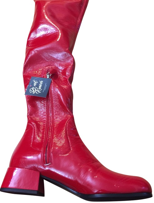 Item - Red Technical Boots/Booties Size EU 39 (Approx. US 9) Narrow (Aa, N)