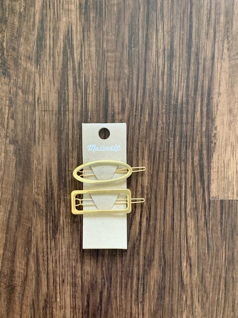 Madewell Gold Two Pack Pins Hair Accessory Madewell Gold Two Pack Pins Hair Accessory Image 4