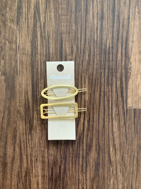 Madewell Gold Two Pack Pins Hair Accessory Madewell Gold Two Pack Pins Hair Accessory Image 5