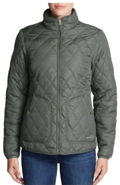 Item - Military Green Quilted All Season Jacket Activewear Size 8 (M)