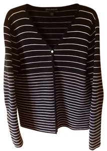 Sarah Spencer Striped Cardigan