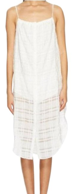Item - White Flora Dress Cover-up/Sarong Size 8 (M)