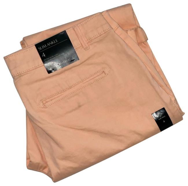 Item - Peach Slim Ankle Pants Size 4 (S, 27)