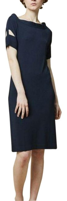 Item - Blue Maira Short Sleeve Cutout Mid-length Casual Maxi Dress Size 4 (S)