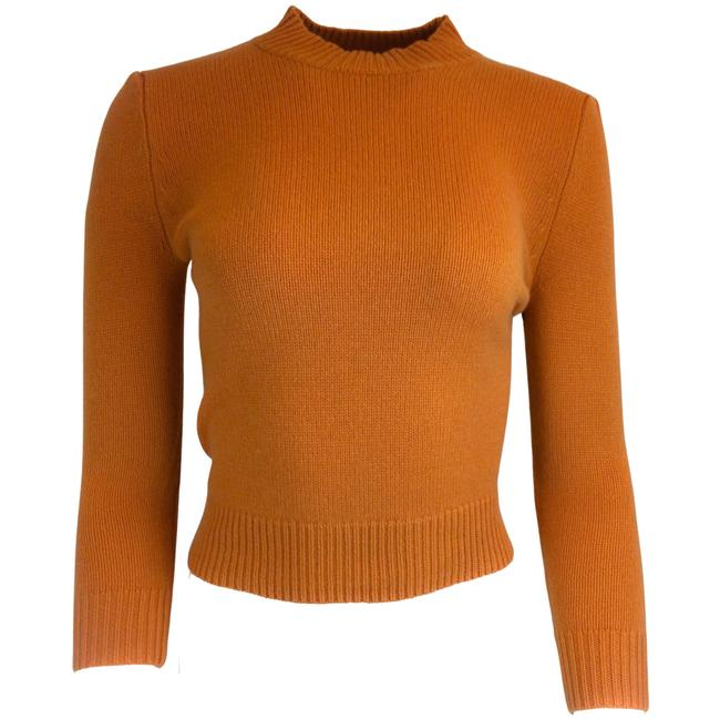 Item - Cashmere Knit Orange Sweater