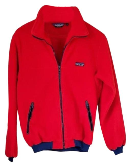 Item - Red Blue Zip Up Activewear Size 8 (M)