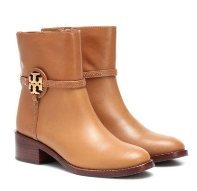 Item - Dark Tiramisu Miller Logo 45mm Boots/Booties Size US 6.5 Regular (M, B)