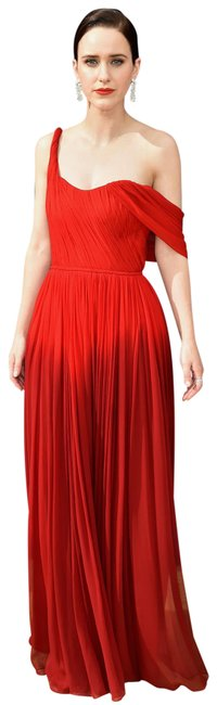 Item - Red 2019 Collection Long Formal Dress Size 12 (L)