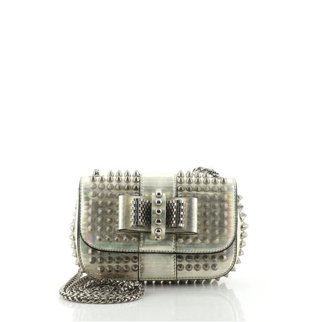 Item - Sweet Charity Spiked Holographic Mini Multicolor Leather Cross Body Bag