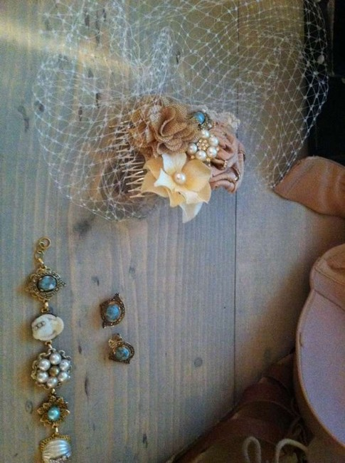 Item - Blue Birdcage Listing For Gladys Viel and Jewelry Bridal Veil