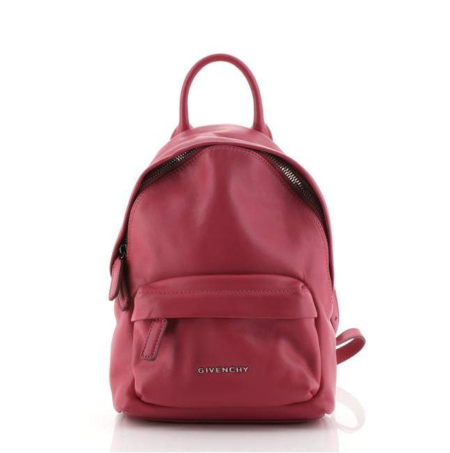 Item - Classic Nano Purple Leather Backpack