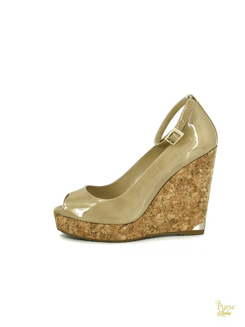 Item - Beige Patent Leather Pacific #33054 Wedges Size EU 40 (Approx. US 10) Regular (M, B)