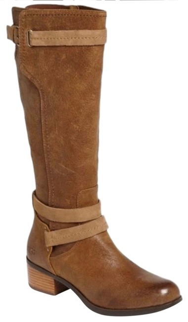 Item - Brown Darcie Knee High Leather Boots/Booties Size US 6 Regular (M, B)