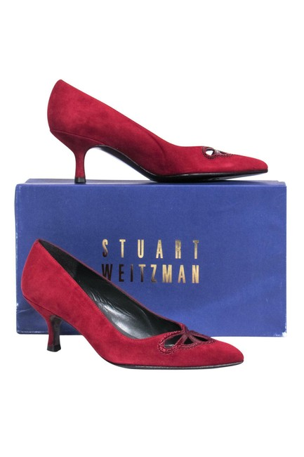 Item - Red Pumps Size US 6.0 Regular (M, B)