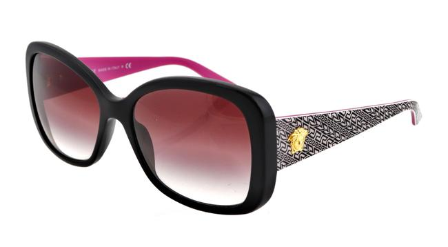 Item - Black and Pink Ve4255 Gb1/8h 58mm Italy Sunglasses
