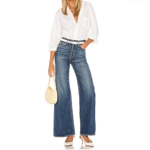 Item - After All Medium Wash Casey Trouser/Wide Leg Jeans