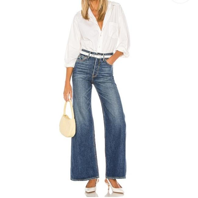 Item - After All Medium Wash Casey Trouser/Wide Leg Jeans Size 28 (4, S)