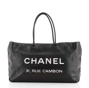 Item - Shopping Cambon Essential 31 Rue Medium Black Leather Tote