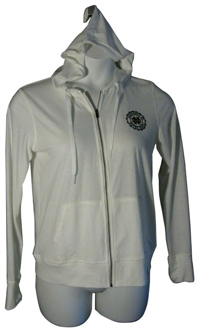 Item - Ivory Medium M New Notre Dame Jacket Loose Fit Activewear Outerwear Size 8 (M)