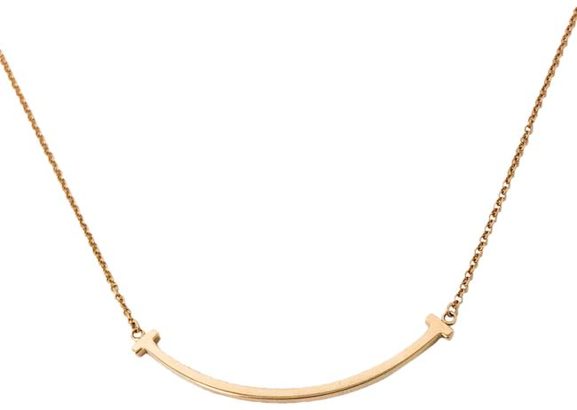 Item - Rose Gold Smile Pendant In Necklace
