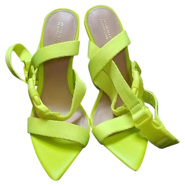 Item - Yellow Winnie Harlow X Rum Punch ... Sandals Size US 5.5 Regular (M, B)
