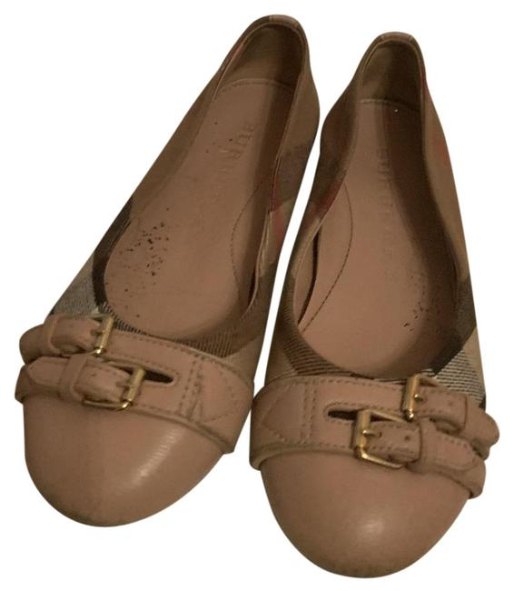 Item - Beige Kids Flats Size US 12 Narrow (Aa, N)