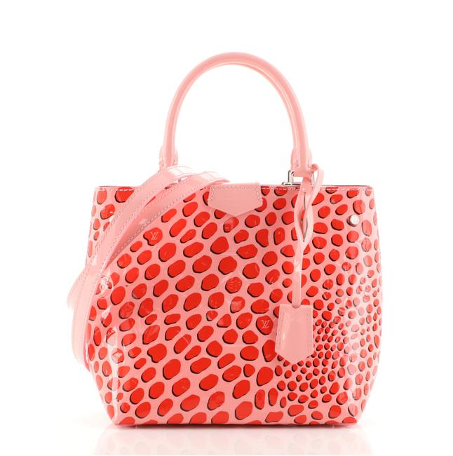 Item - Open Limited Edition Monogram Vernis Jungle Pink and Red Patent Leather Tote