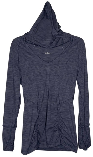 Item - Gray Quick Drying Pullover Hoodie Medium Activewear Top Size 8 (M)