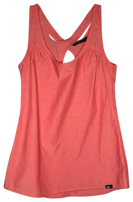 Item - Orange XS Coral Vapor Wick Racer Back Athletic Activewear Top Size 0 (XS)