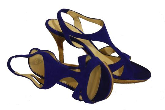 Isola Royal Blue Pumps Image 7
