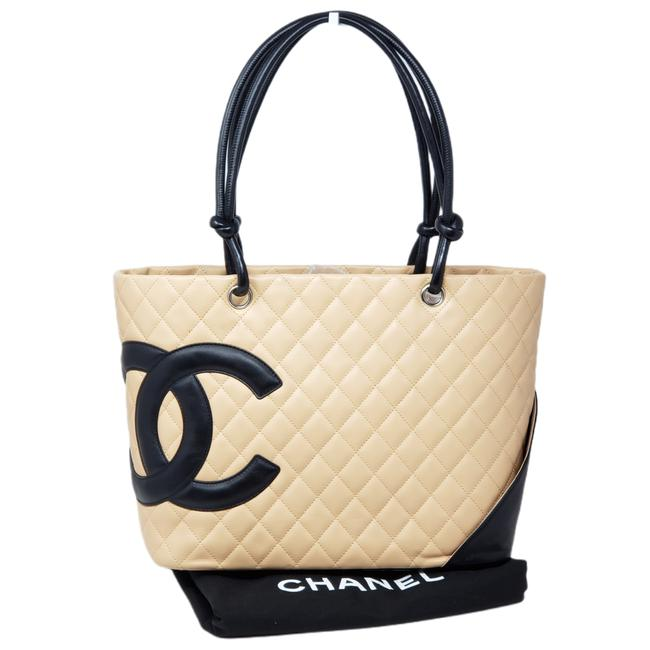 Item - Bag Cambon Line Leather Tote