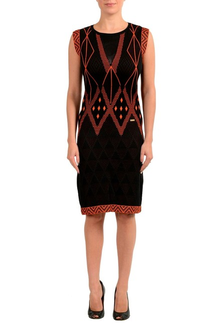 Item - Multi-color Women's Knitted Bodycon Short Casual Dress Size 4 (S)
