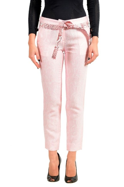 Item - Pink Women's Wool Belted Casual Pants Size 2 (XS, 26)