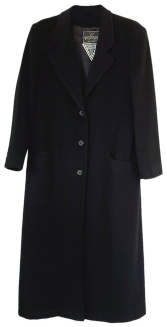 Item - Black Women Cashmere Usa Coat Size 14 (L)