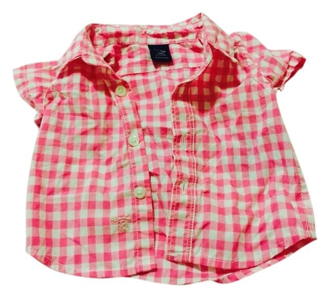 Preload https://item5.tradesy.com/images/babygap-pink-and-white-tee-shirt-size-00-xxs-2870194-0-0.jpg?width=400&height=650