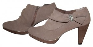 Yellow Box Taupe Boots