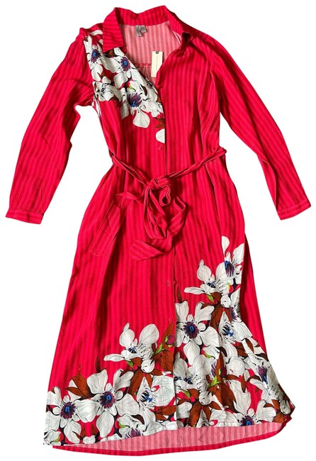 Item - Red Mid-length Casual Maxi Dress Size 2 (XS)
