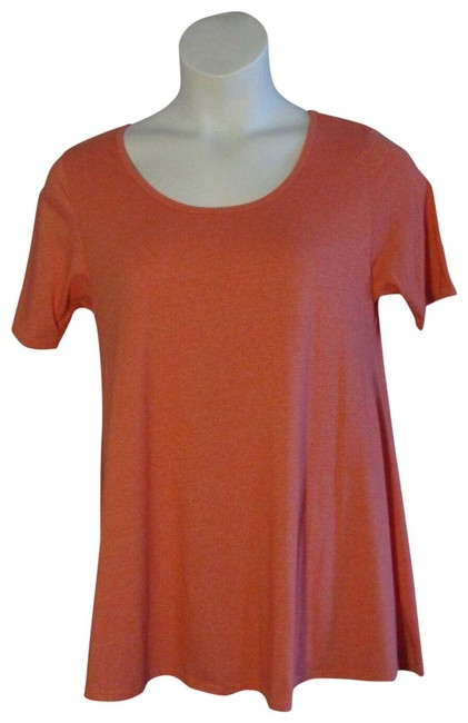 Item - Pink Medium M Sold Coral Heathered Perfect Knit Tee Shirt Size 8 (M)