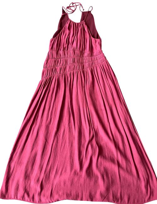 Item - Wine Mid-length Casual Maxi Dress Size 4 (S)