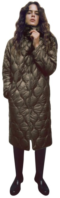 Item - Chocolate Limited Edition Quilted Water Wind Protect Coat Size 6 (S)