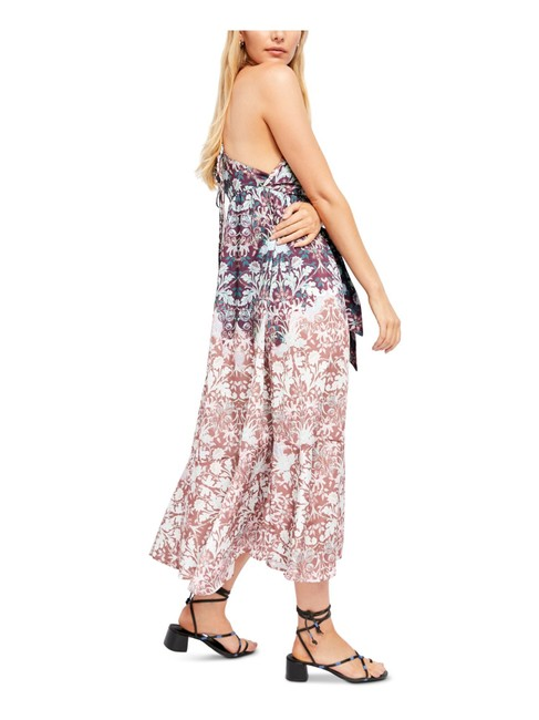 Item - Chocolate Combo Floral Print Sun Bleached Long Casual Maxi Dress Size 4 (S)