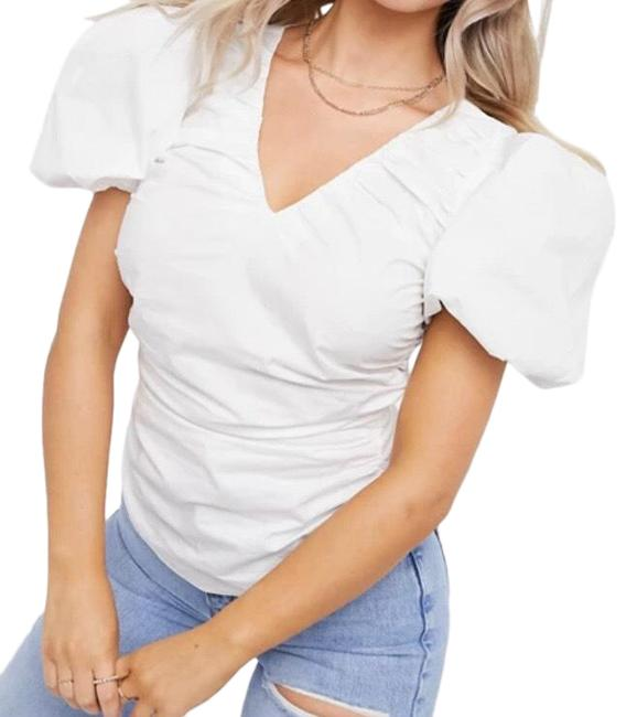 Item - Puff Sleeve Blouse Size 14 (L)