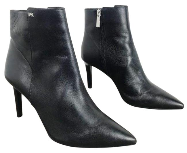 Item - Black Dorothy Flex Leather Ankle Boots/Booties Size US 7 Regular (M, B)