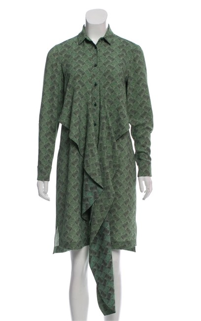 Item - Kelly Green Mid-length Work/Office Dress Size 6 (S)