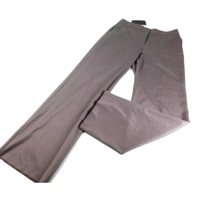 Item - Gray Shelly Fresco Leg Pants Size 10 (M, 31)