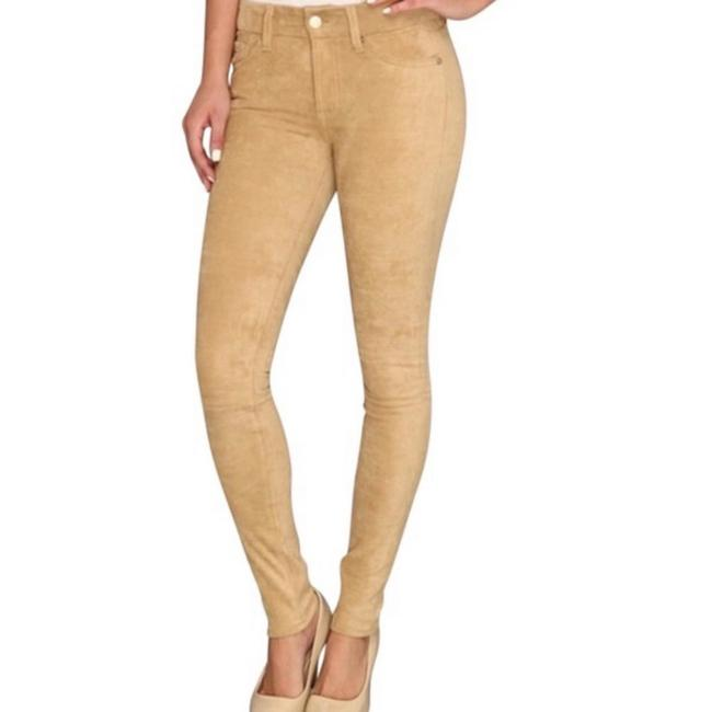 Item - Gold Coated The Sueded Skinny Jeans Size 0 (XS, 25)