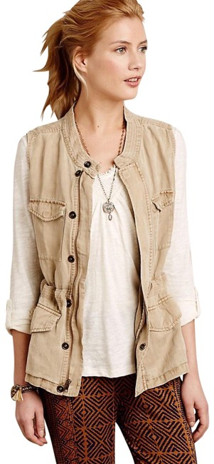 Item - Tan Calloway Belted By Sanctuary Vest Size 4 (S)